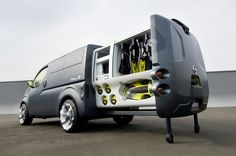 Nissan NV200, Futuristic Car