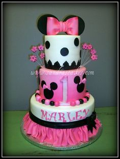Baby Shower Cake Idea (Minnie Mouse)