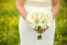 A Twin Cedar Farm wedding by wedding photographer JoPhoto. A Knoxville farm wedding venue in Tennessee. White Wedding Bouquets, Yellow Wedding, Bridesmaid Bouquet, Farm Wedding, Summer Wedding, Rustic Wedding, Dream Wedding, Wedding Dresses, Floral Wedding