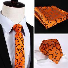 NeckTie - Orange @runit365 #fashion #dapper #menswear #ties