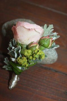 Anstecker für den Bräutigam - Mr & Mrs - kleine Hochzeit zu Zweit in…
