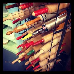 Rolling pin collection