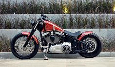 THE ALTER – HARLEY DAVIDSON SOFTAIL FATBOY LO '10