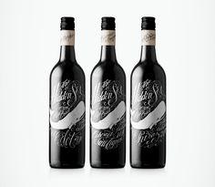 Hidden Sea wine bottles // Designed by Co Partnership // Illustration: Jon Contino, New york #packaging