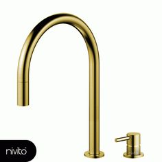 Nivito - Rhythm Vision RH-140-VI Brushed Gold  Brass, Stainless steel #nivito #mixertap #kitchenfaucet #tapware #stainlesssteel #brushed #brass #kitchenfaucets #gold #kitchen #kitchentap #faucet #tap #kitchensinkfaucet Natural Interior, Simple Interior, Minimalist Interior, Best Interior Design, Minimalist Decor, Scandinavian Interior, Luxury Interior, Interior Styling, Interior Architecture
