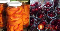 Ovocie zavárané bez cukru a bez nálevu: Zdravé, chutné a výborné hlavne pre cukrovkárov! Preserves, Pickles, Carrots, Food And Drink, Vegetables, Drinks, Desserts, Recipes, Root Cellar