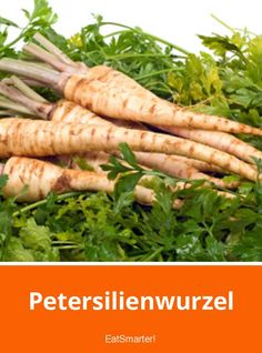 Petersilienwurzel | eatsmarter.de Yams, Fruits And Vegetables, Superfoods, Carrots, Stuffed Mushrooms, Spices, Eat Smarter, Camping, Fitness