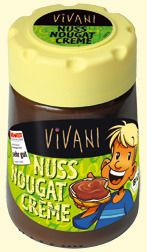Organic raw cane sugar, uncured palm oil, hazelnuts (20%), whole milk powder, sunflower oil, skimmed cocoa powder, vanilla-Borbón.  May contain traces of almonds, hazelnuts and wheat.