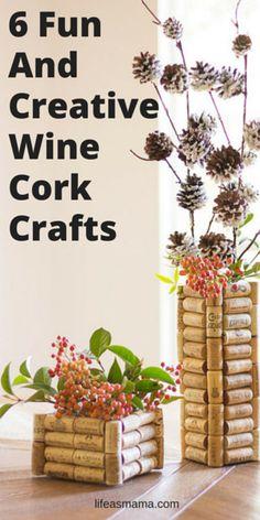 6 Fun and Creative Wine Cork Crafts