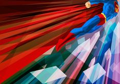 Super-heróis e a arte cubista de Liam Brazier | Notícias | Filmow
