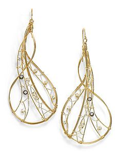 Misha of New York Twisted Wire Earrings