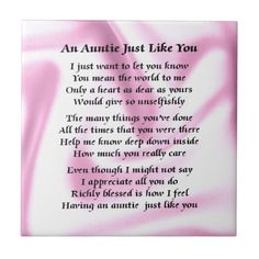 44 Best Special Aunt images | Aunt, Aunt quotes, Aunt gifts