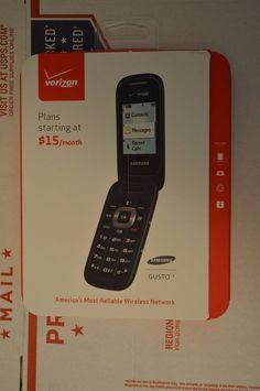 NEW Samsung Gusto 3  (Verizon) Prepaid Cellular Phone  #Samsung #Flip