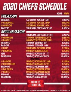 Chiefs Schedule, Packers Schedule, Printable Nfl Schedule, Schedule Calendar, Kansas City Nfl, Kansas City Chiefs Football, Chiefs Wallpaper, Season Calendar, Chiefs Super Bowl