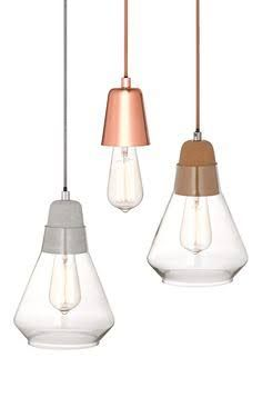 The beacon lighting ando pendant with copper lampholder and clear the beacon lighting ando pendant with copper lampholder and clear covered copper cabling and glass shade is singularly distinctive and original in aloadofball Image collections