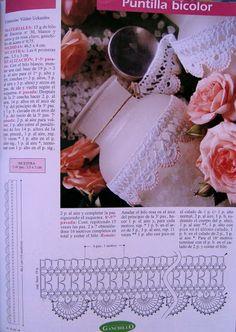 crochet - bicos - barrados - edgings - Raissa Tavares - Álbuns da web do Picasa... Would make pretty jewelry!