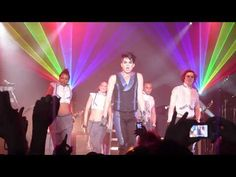 Adam Lambert - Band/Dancer Intro - Glam Nation concert - Nokia Theater, ...