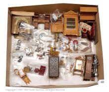 QTY inc Mistletoe Manor dolls house contents