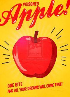 Snow White Retro Ad by ~SimpleDisneyThings on deviantART