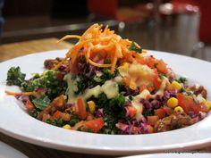 All Hail Kale Salad, Veggie Grill (Irvine, CA) #vegan