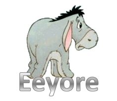 "eeyore | Good morning, Pooh Bear,"" said Eeyore gloomily. ""If it is a ..."