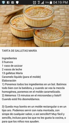 Gourmet Recipes, Mexican Food Recipes, Sweet Recipes, Baking Recipes, Cake Recipes, Snack Recipes, Dessert Recipes, Flan, Fun Foods To Make