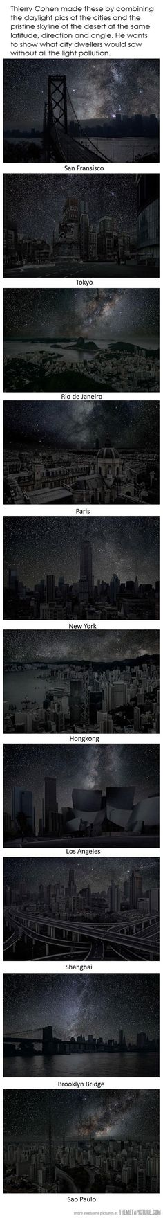 Wish this is how cities did look at night!
