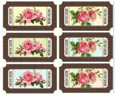 Shabby Chic  digital collage sheet for scrapbook and cards  DC776 by shabbybeautiful, $2.99 USD