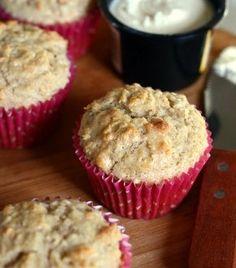 Coconut Oatmeal Muffins | Baking Bites