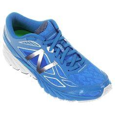 Compre Tênis New Balance 870 V4 Azul e Prata na Zattini a nova loja de moda…