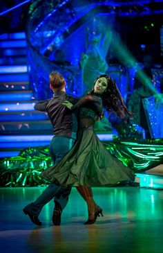 Strictly Come Dancing 2014: Week 6 - Halloween - Kevin Clifton and Frankie Bridge