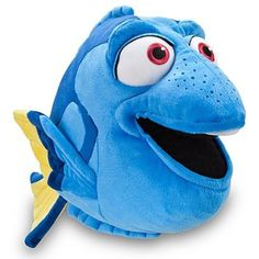 Finding Nemo: Dory Plush -- 17'' L >>> Click image to review more details. (This is an affiliate link) #Puppets