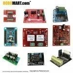 Buy online motor driver controller boards for drive stepper motor at reasonable charges. Basically a motor controller strength and de-strength circuit for start and stop operations. Its main function is on, off over current protection. Robomart provides all types motors such as motor driver controller boards, motor driver controller boards india, motor boards in all over india.