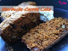 LA TÍA MARUJA: Fast MaruFood: carrot cake del Starbucks.