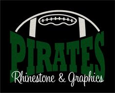 Pirates Football Design Pattern Graphic Design Instant Download EPS SVG DXF  Cutting Files Cameo by RhinestoneandGraphic on Etsy