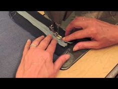 ▶ Easy fly front zipper the sewing DD - This is a very good demonstation of Zipper application ****