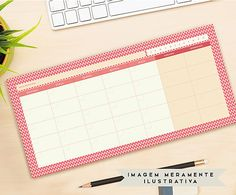 Deskpad Maëlys - 26,7X14cm