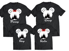 12 Totally Cute Matching Family Disney Shirts For Your Vacation