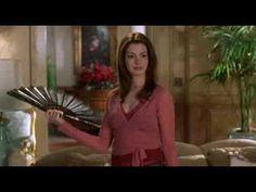 The Princess Diaries 2 -  Mia's art of the fan lesson