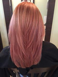 Cabelo Rose Gold, Pastel Pink Hair, Coloured Hair, Rose Hair, Dye My Hair, Aesthetic Hair, Cool Hair Color, Hair Day, Hair Looks