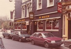 Rice's Bar south King Street Dublin Demolished to make way for the Stephens Green Shopping centre. We'd often pop in here for a drink. Dublin Street, Dublin City, Old Pictures, Old Photos, Images Of Ireland, Irish Celtic, History Photos, Dublin Ireland, The Good Old Days