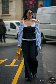 ☆Yuwei Zhangzou YuYu by STYLEDUMONDE Street Style Fashion Photography