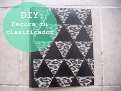 DIY | Decora tu clasificador, cuaderno o carpeta  (Back to school)  Decorate your notebook