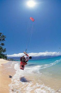 Kite-Surfing in Port Douglas, Australia #kitesurfing http://www.blueprinteyewear.com/