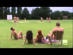 Streaker disrupts cricket match