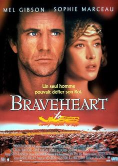 """Braveheart is another testosterone injected battle of will and country and the """"Freedom"""" scene is a classic that I can recite at will and do perfectly intoxicated."""