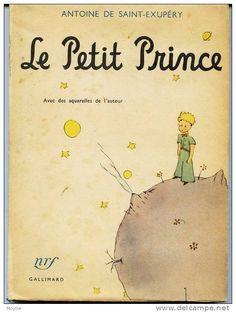 Le petit prince : avec les dessins de l'auteur / Antoine de Saint-Exupéry - Paris : Gallimard, imp. 1960