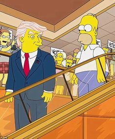 Donald Trump's bid for the White House and ascendancy in the polls has surprised many – but The Simpsons called it 15 years ago. By Nerti U. Qatja, @VOP_Today The cartoon foretold a Trump presidency in a surreal episode where Bart is given a window into the future – and found a country brought to its knees …