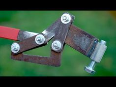 INVENTIONS THAT CAN HELP YOU A LOT - YouTube Diy Crafts Hacks, Diy Home Crafts, Metal Projects, Welding Projects, Metal Tools, Metal Art, Mechanical Power, Machinist Tools, Metal Bending