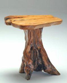 baumstamm tisch auf pinterest wohnwand selber bauen. Black Bedroom Furniture Sets. Home Design Ideas